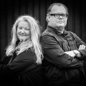 Johan Rosenlind, Lotta Fritzdorf, manusförfattare, författare, föreläsare, Vår tid är nu