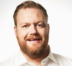 Kristoffer Appelquist (foto Robert Eldrim) - Komiker, konferencier och moderator