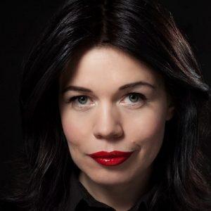 Lotta Lundgren föreläsning - Programledare, författare och expert på matkultur (foto Pelle Bergström)