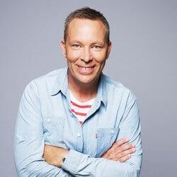 Patrik Larsson (foto Robert Eldrim) - Komiker, manusförfattare och skådespelare