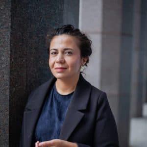 Sarah Delshad, skribent, talare, föreläsare, kulturproducent, debattör